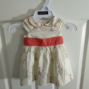 Janie and Jack baby dress size 3-6 months